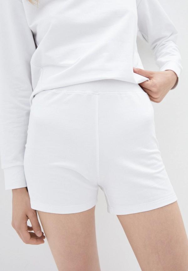 женские спортивные шорты daria karpiuk, белые