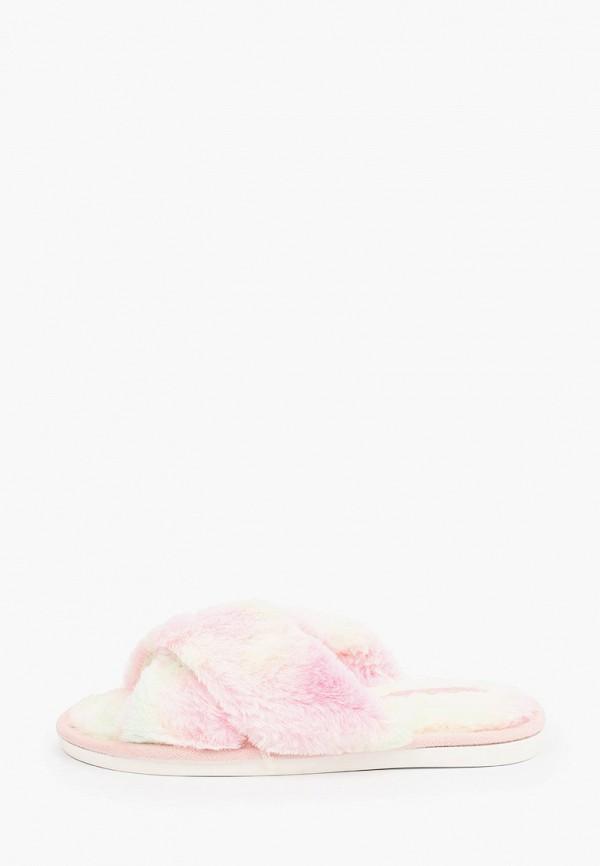 женские тапочки smile of milady, розовые
