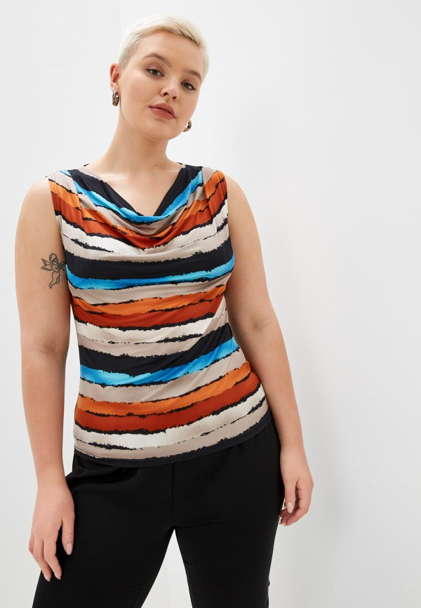 женский топ ckc collections, разноцветный