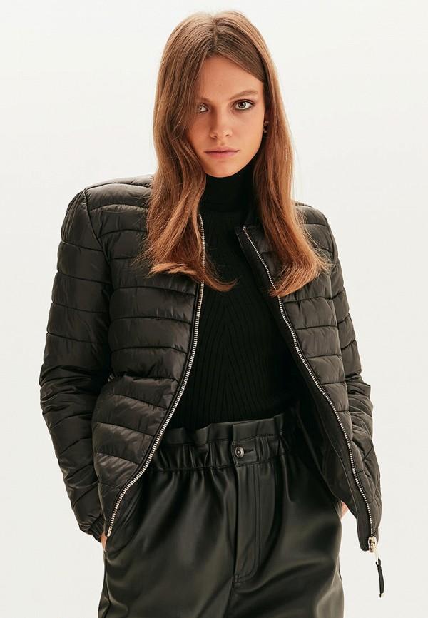 Куртка утепленная Love Republic черного цвета