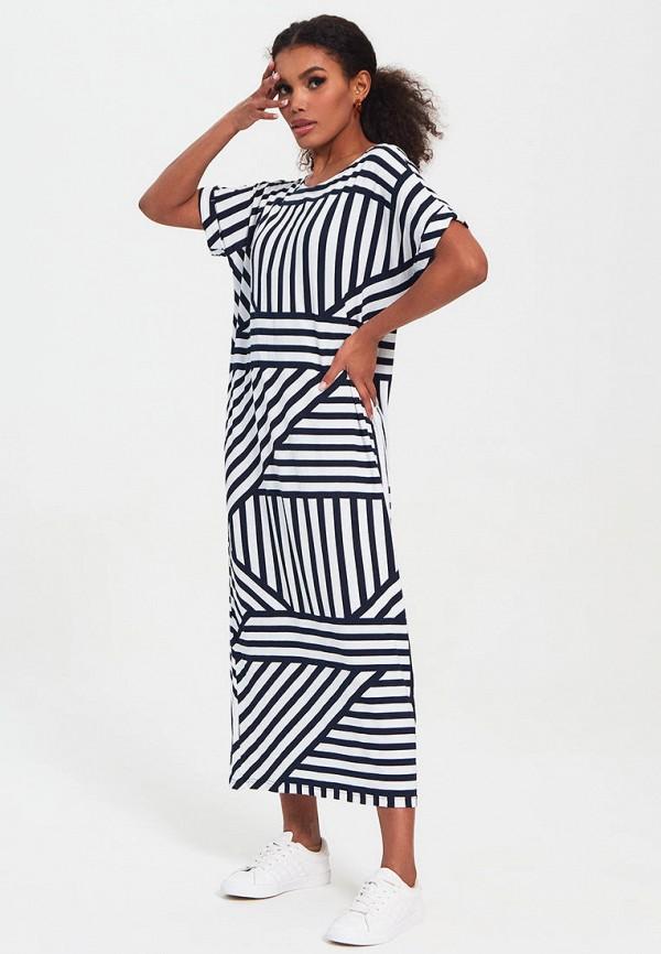 женское платье-футболки bornsoon, разноцветное