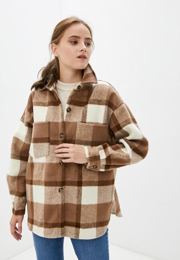 женская легкие куртка indiano natural, коричневая