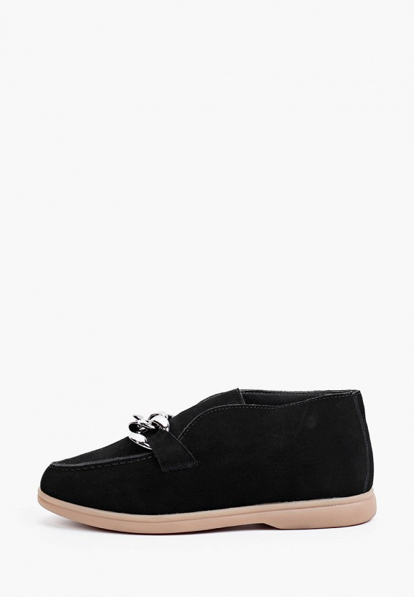 женские высокие ботинки grand style, черные