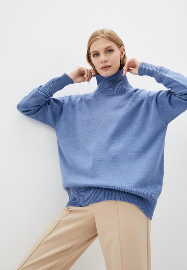 женский свитер victoria solovkina, голубой