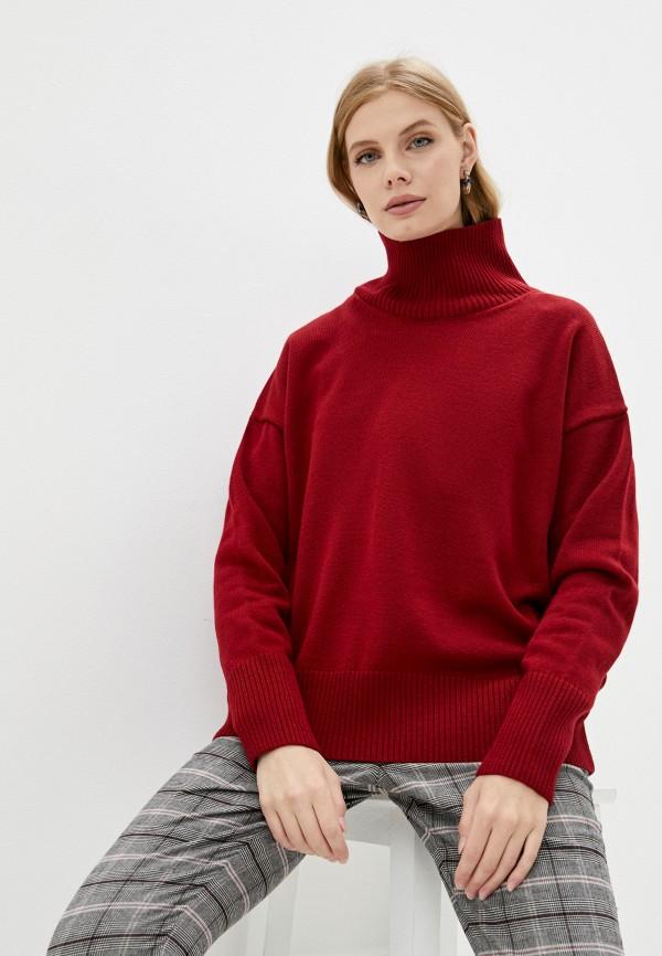 женский свитер victoria solovkina, красный