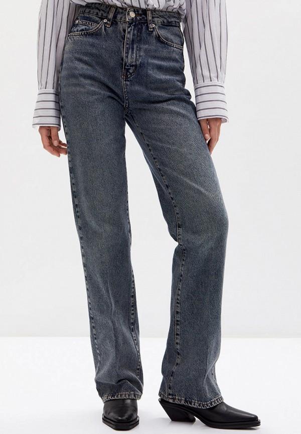 женские прямые джинсы lime, серые