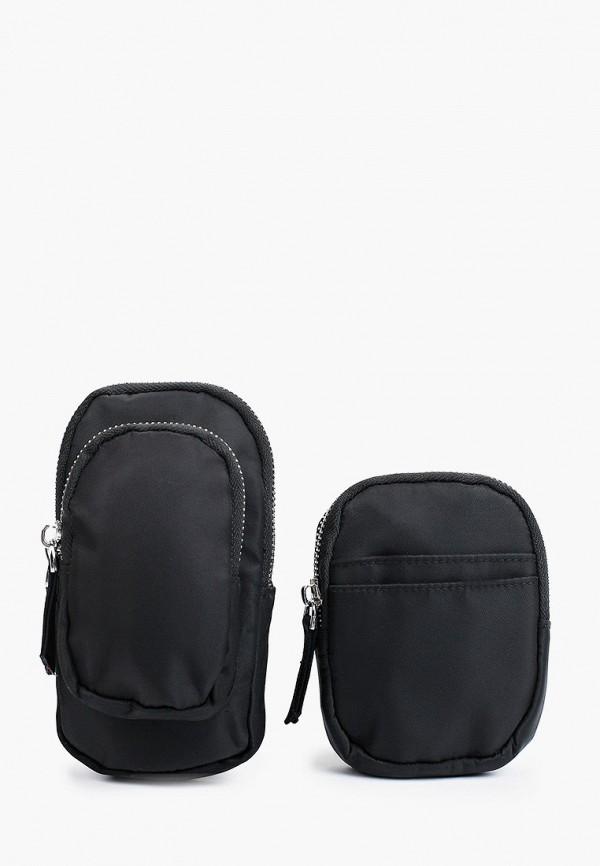 женская сумка через плечо befree, черная