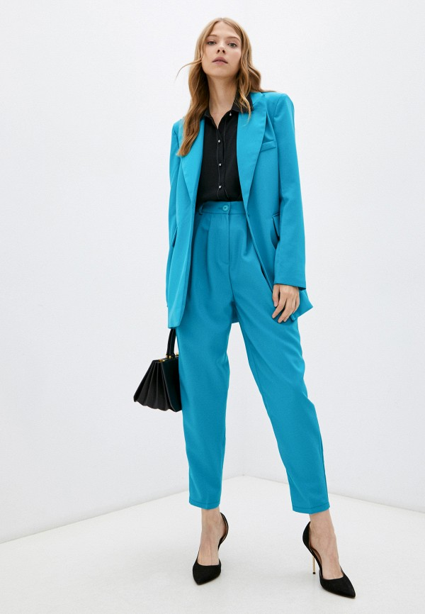 женский костюм julswan, голубой