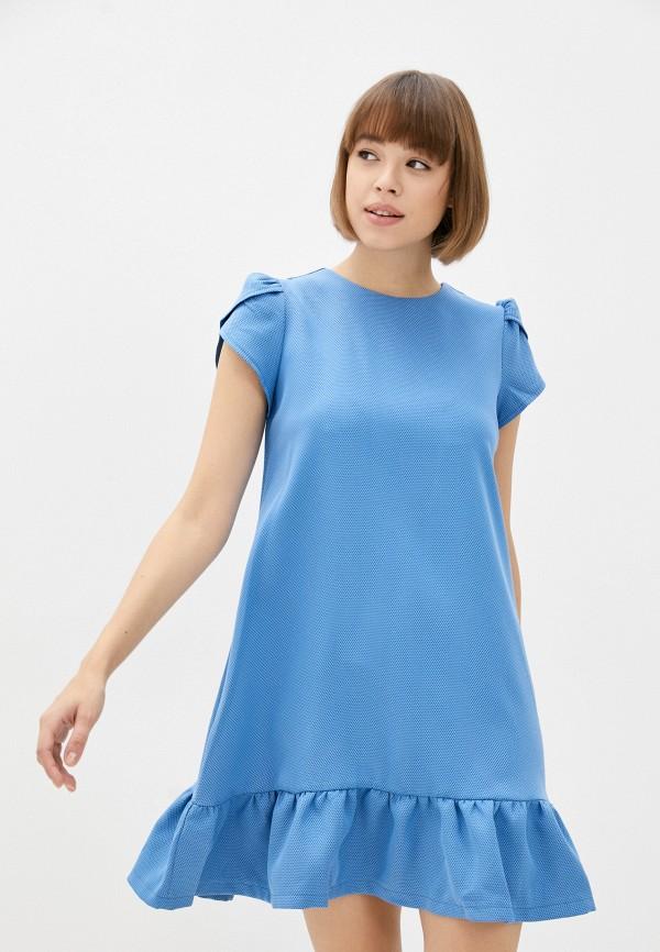 женское повседневные платье patricia charme, голубое
