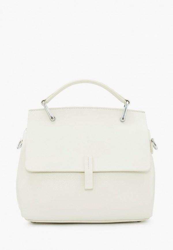 женская сумка через плечо marco bonne', белая