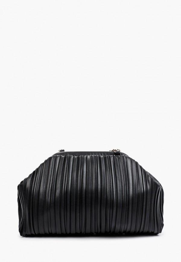 женская сумка через плечо love republic, черная