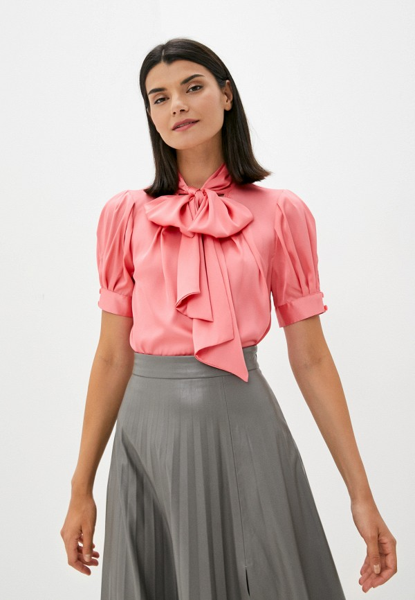 женская блузка с коротким рукавом арт-деко