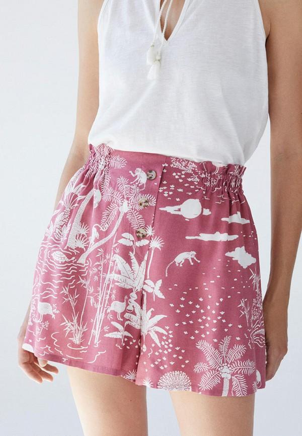 женские повседневные шорты women'secret, розовые