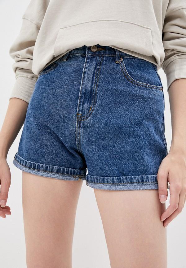 женские джинсовые шорты mark formelle, синие