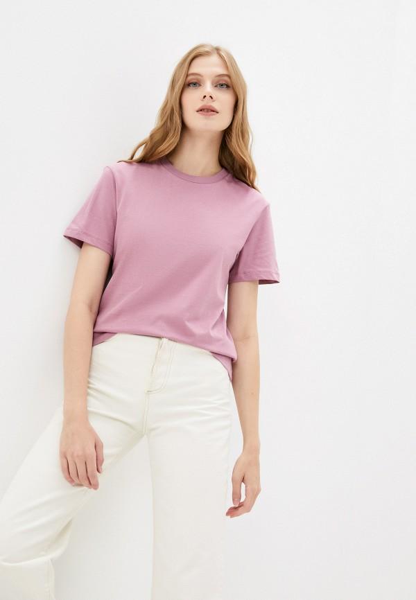 женская футболка mark formelle, розовая