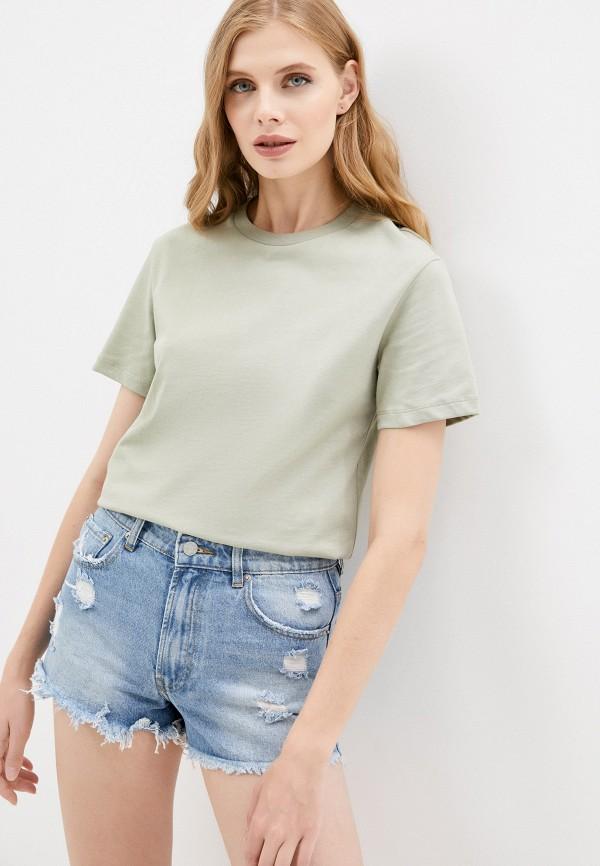 женская футболка mark formelle, зеленая