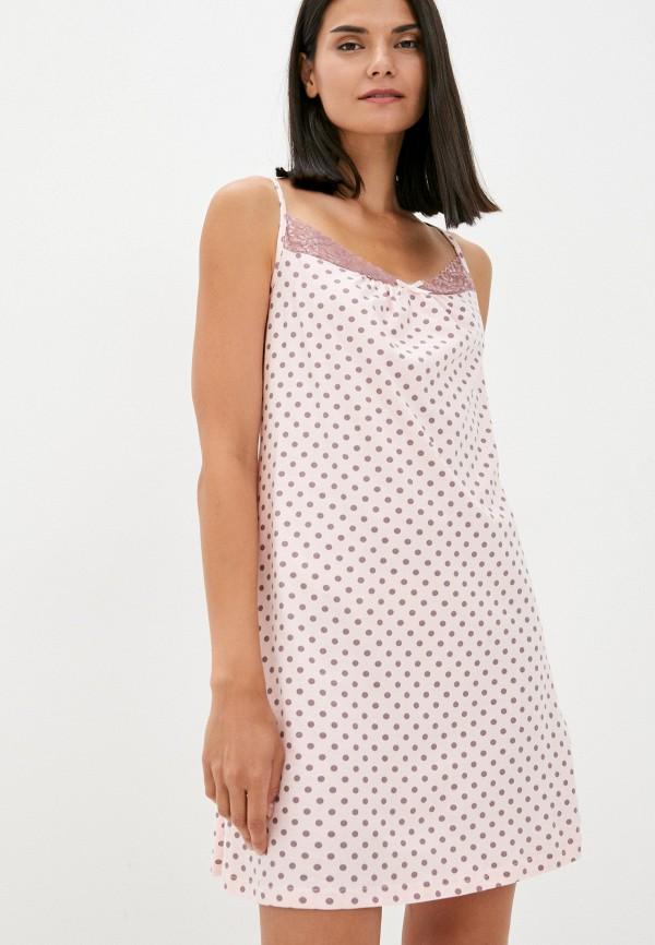 женские сорочка ночная miata, розовые