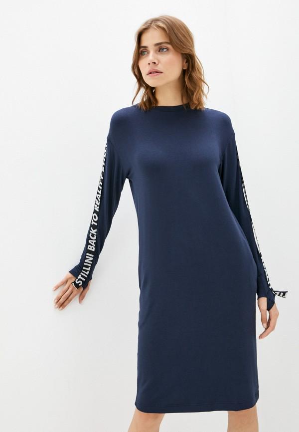 женское платье-футболки stillini, синее