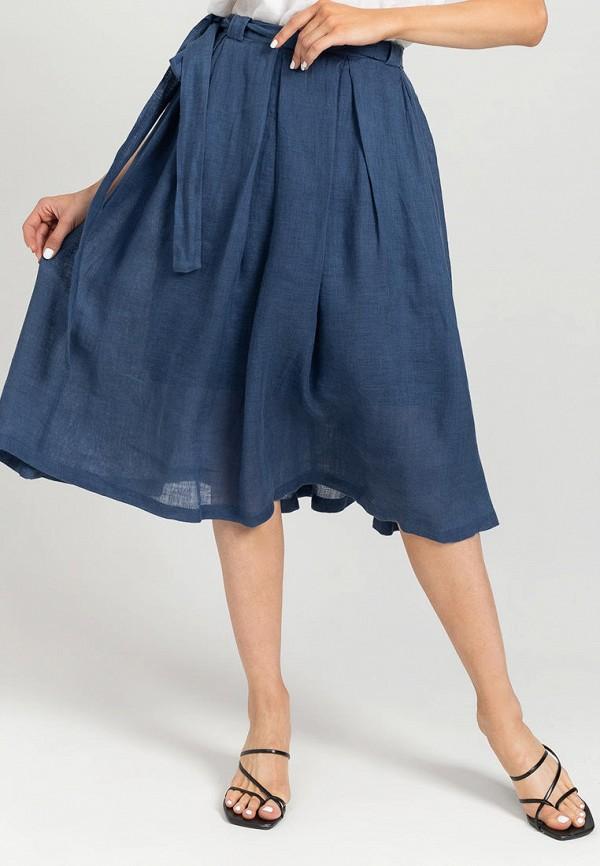 женская юбка feel and fly, синяя
