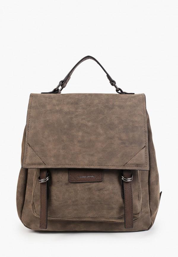 женский рюкзак thomas munz, коричневый