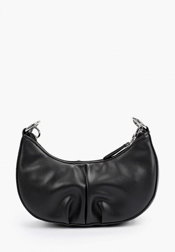женская сумка с ручками lolli l polli, черная