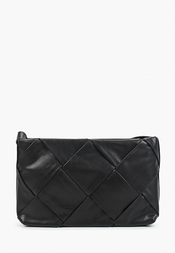 женская сумка через плечо bridget, черная