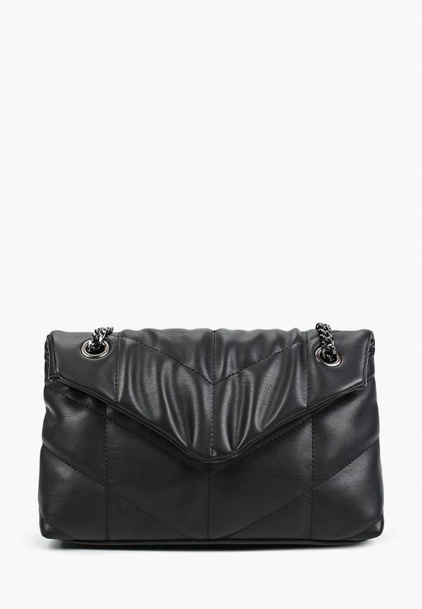 женская сумка через плечо thomas munz, черная