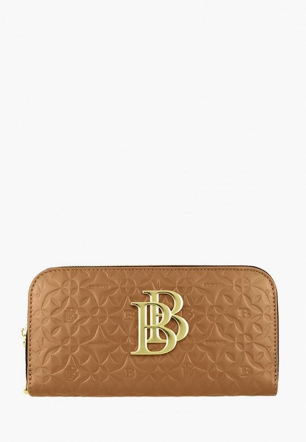 женский кошелёк bb1, коричневый