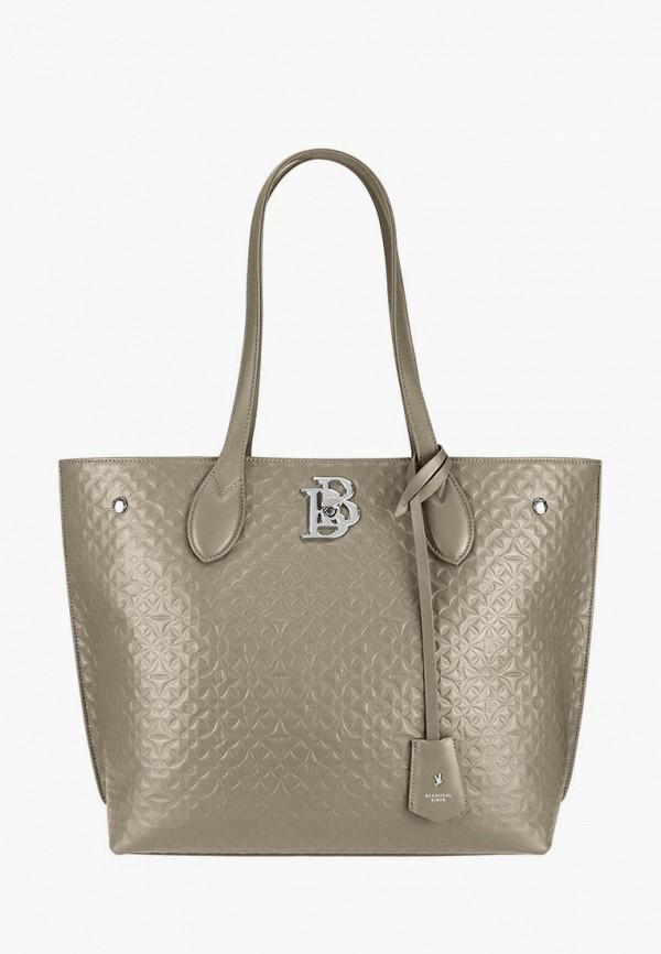 женская сумка-шоперы bb1, бежевая