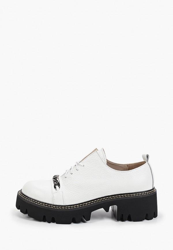 женские ботинки-оксфорды pauli, белые