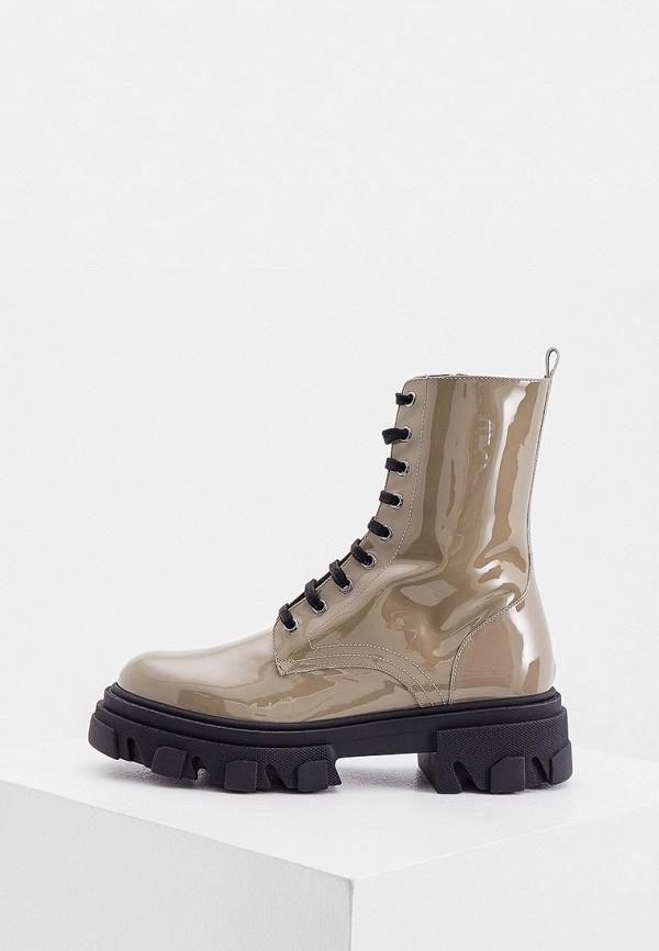 женские высокие ботинки jonak, бежевые