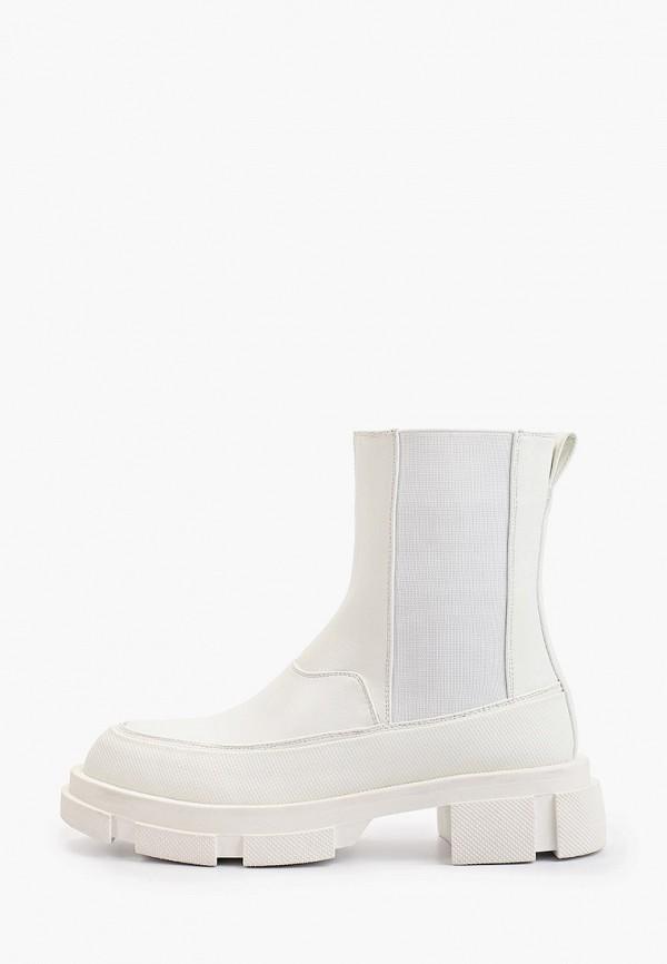 женские ботинки-челси араз, белые