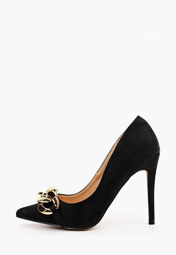 женские туфли-лодочки may vian, черные