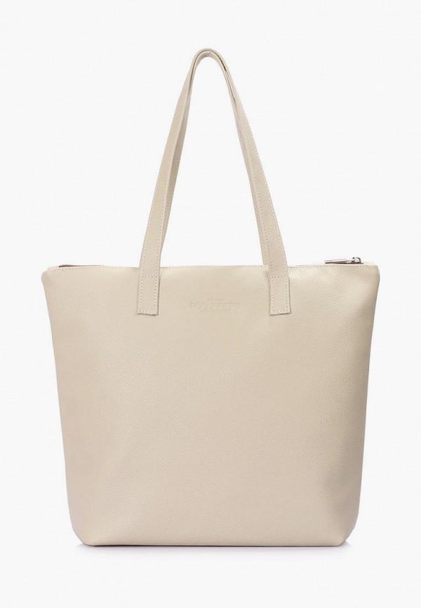 женская сумка poolparty, бежевая
