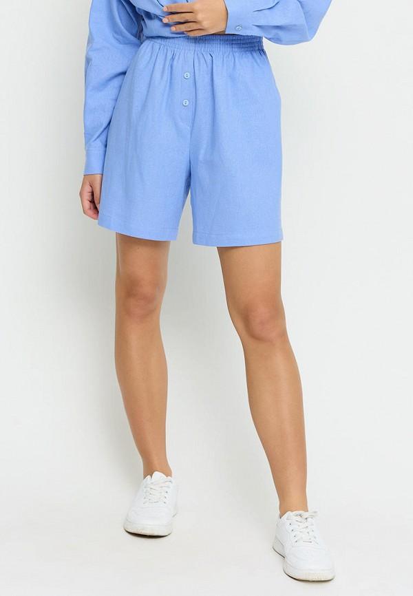 женские повседневные шорты cardo, голубые