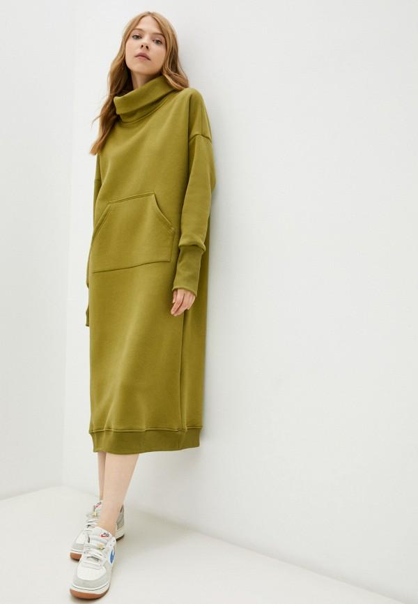 женское платье-толстовки baon, хаки