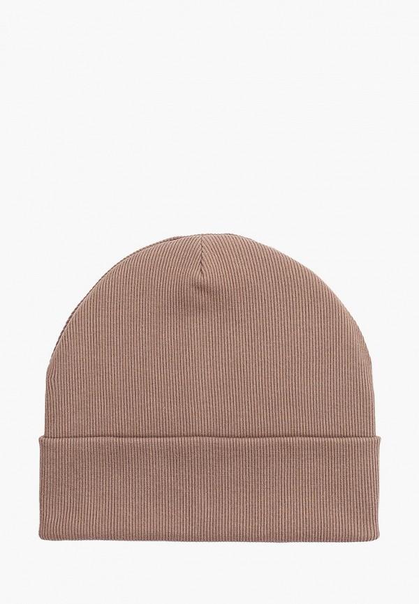 женская шапка baon, коричневая