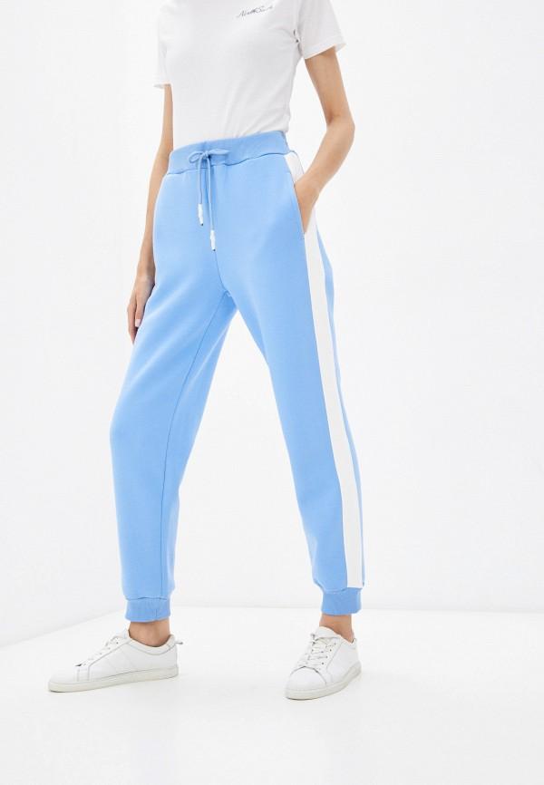 женские спортивные брюки baon, голубые