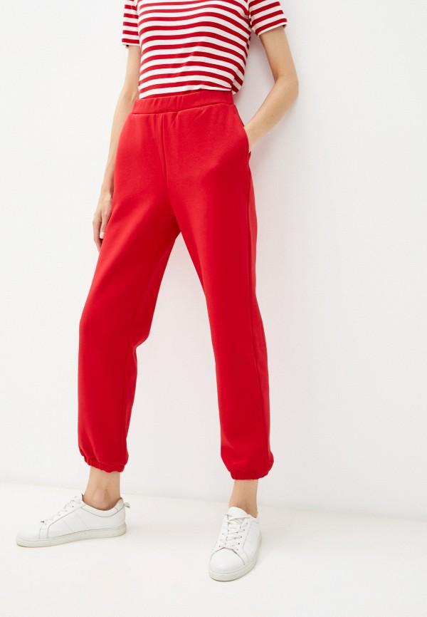 женские спортивные брюки baon, красные