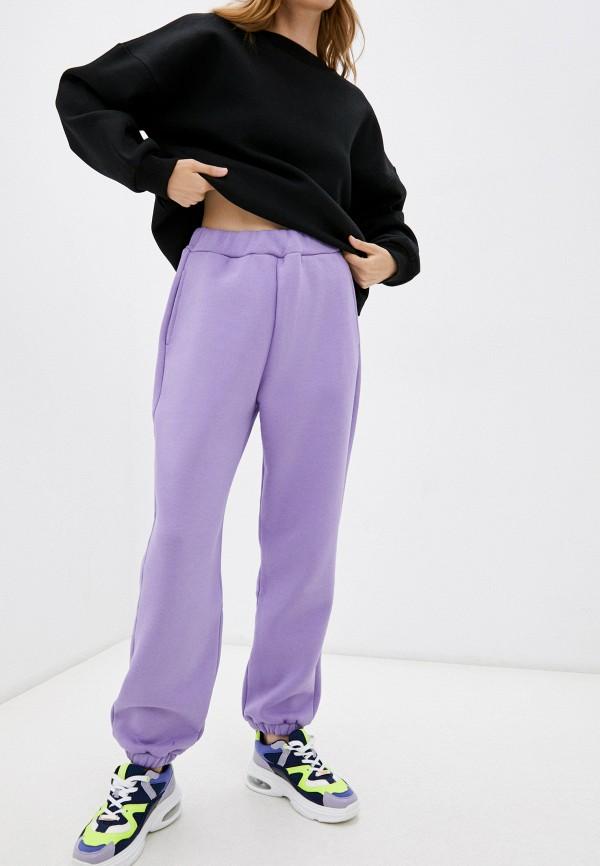 женские спортивные брюки baon, фиолетовые