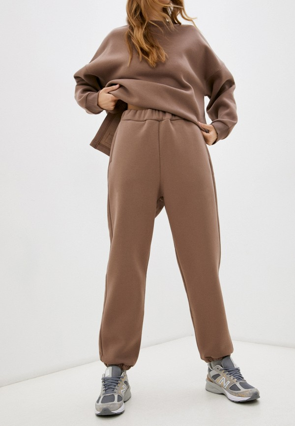 женские спортивные брюки baon, коричневые