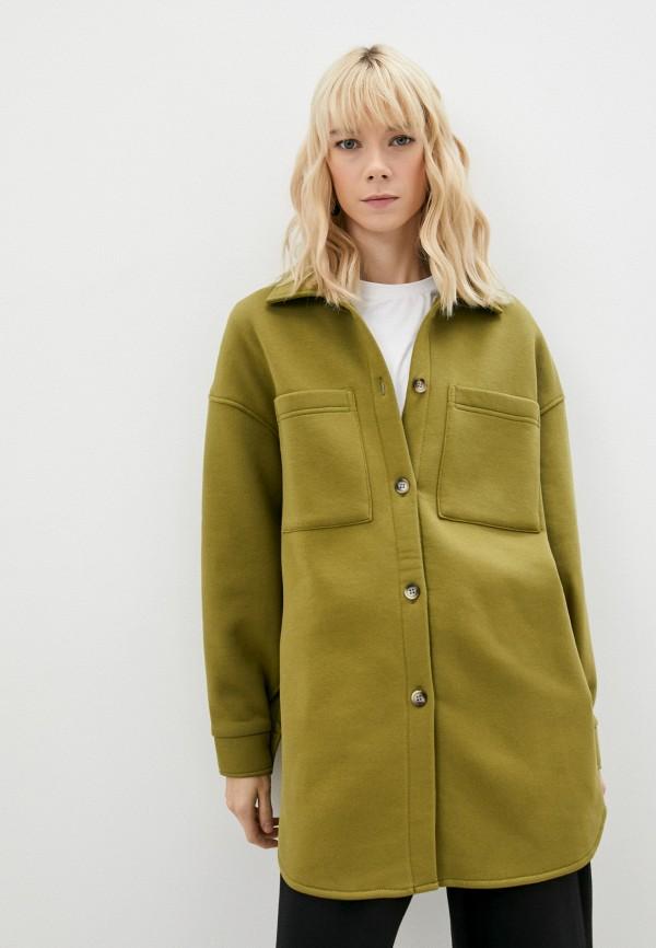 женское пальто baon, хаки