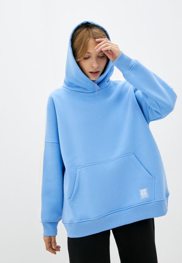 женские худи baon, голубые
