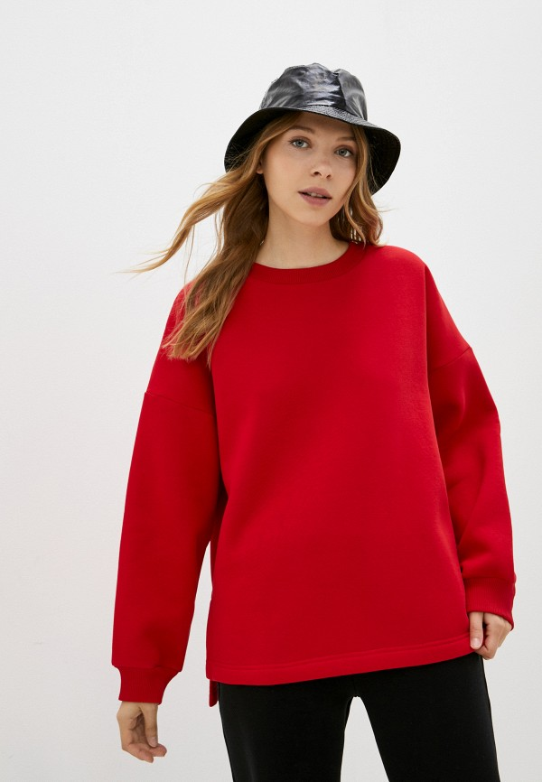 женский свитшот baon, красный