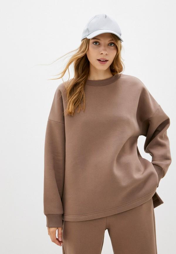 женский свитшот baon, коричневый