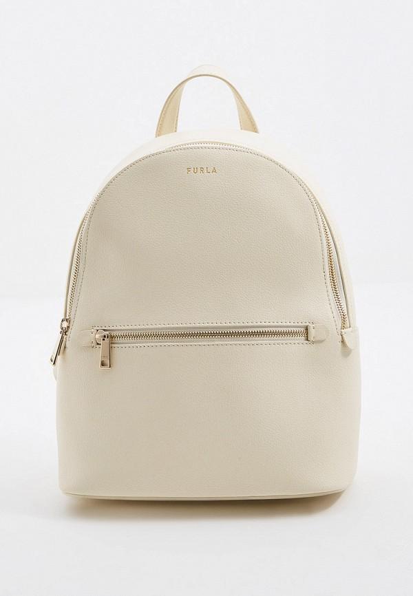 женский рюкзак furla, бежевый