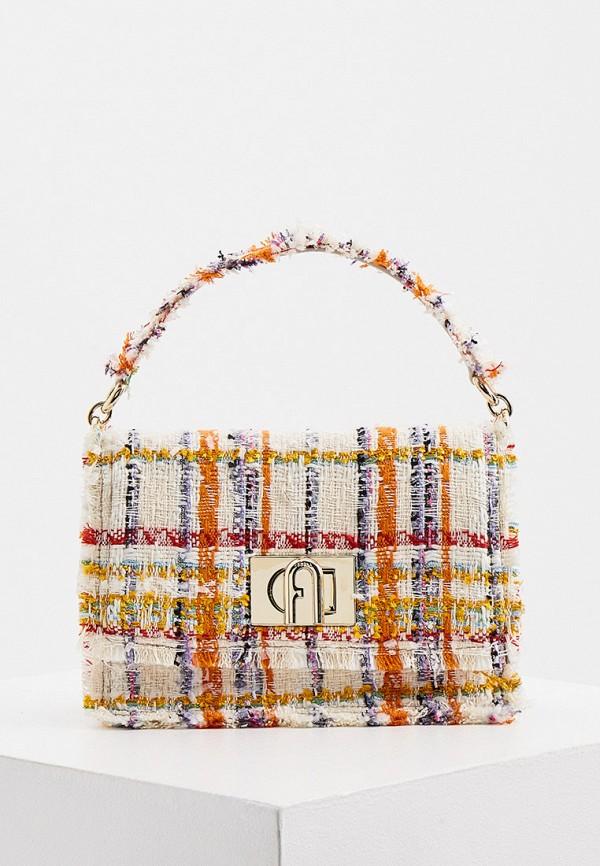 женская сумка-кроссбоди furla, разноцветная
