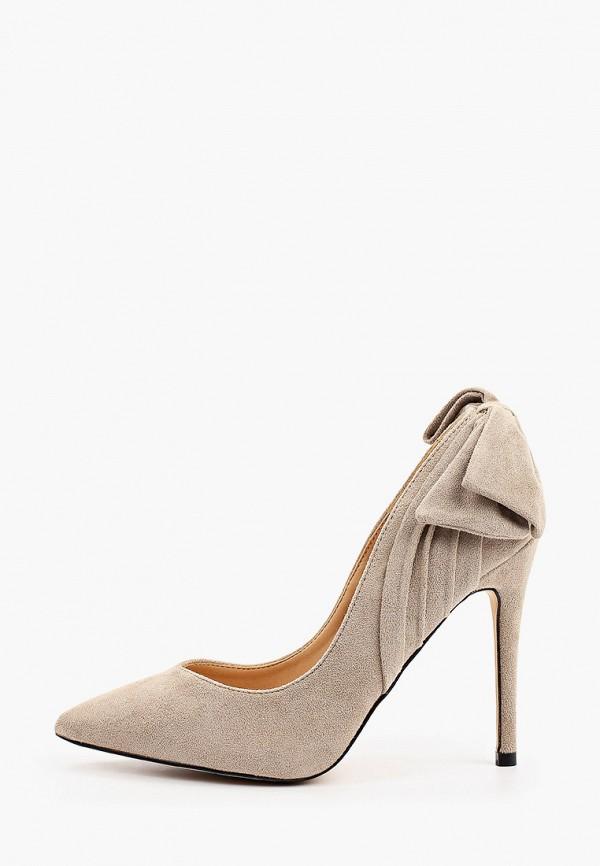 женские туфли-лодочки may vian, бежевые