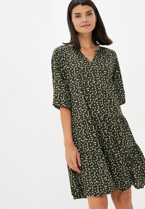 женское повседневные платье colin's, хаки