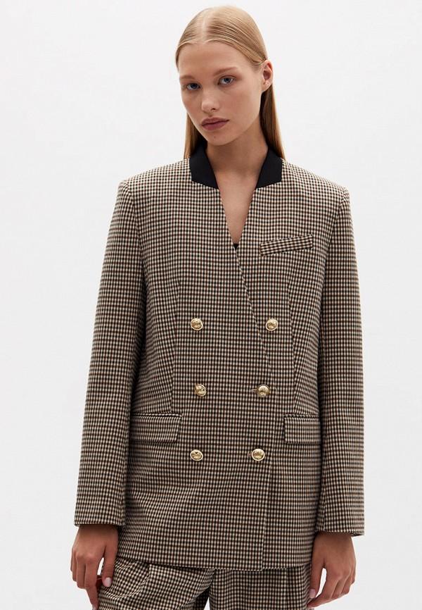женский пиджак lime, бежевый